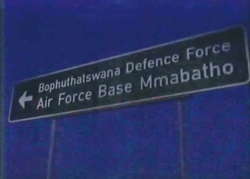 Cartello: Bophuthatswana Defence Force, Air Force Base Mmabatho