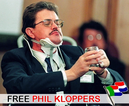 Free Phil Kloppers! Boer prisoner