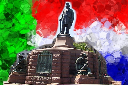 Paul Kruger, statua in Church Square, a Pretoria